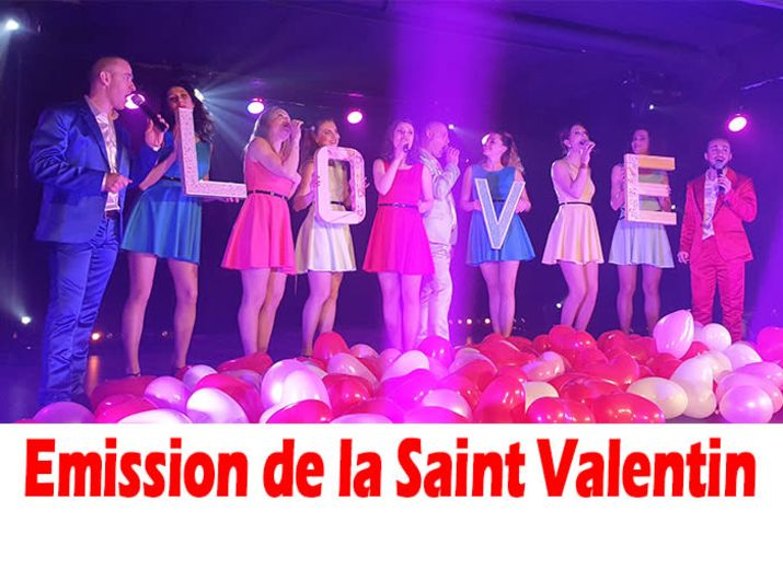 Soutien à l'Emission Spéciale St Valentin du Cabaret Le Robinson
