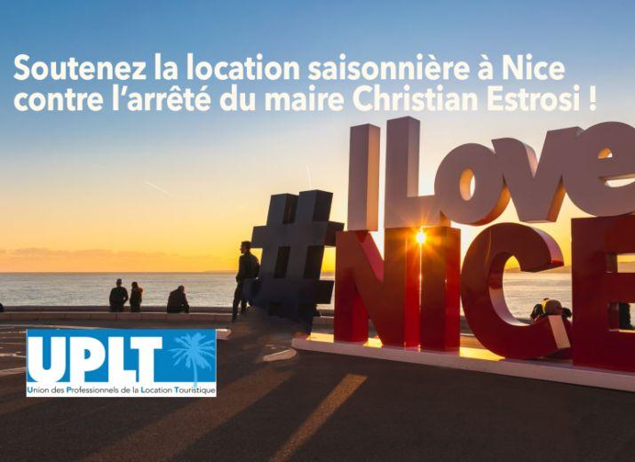 Soutenez la location saisonnière à Nice face à l'arrêté anti locations du maire