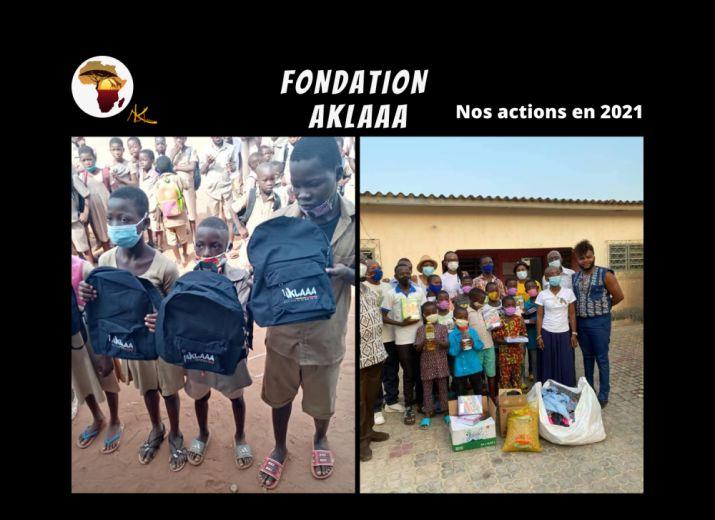 La fondation Aklaaa / Projets 2021