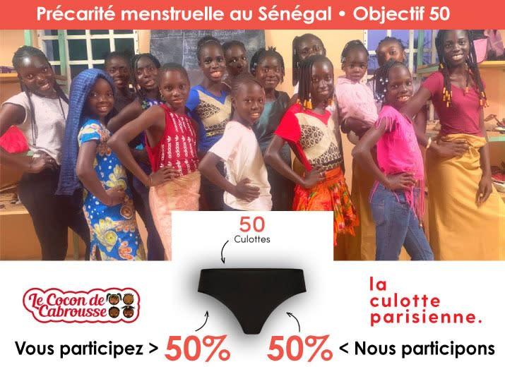 Un geste contre la précarité menstruelle