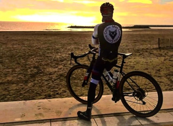 Mes combats contre Crohn ; un tour de la France de 7000 km a vélo pour sensibiliser a la maladie de crohn