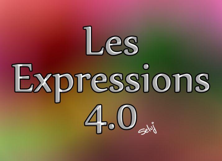 Les expressions illustrées 4.0