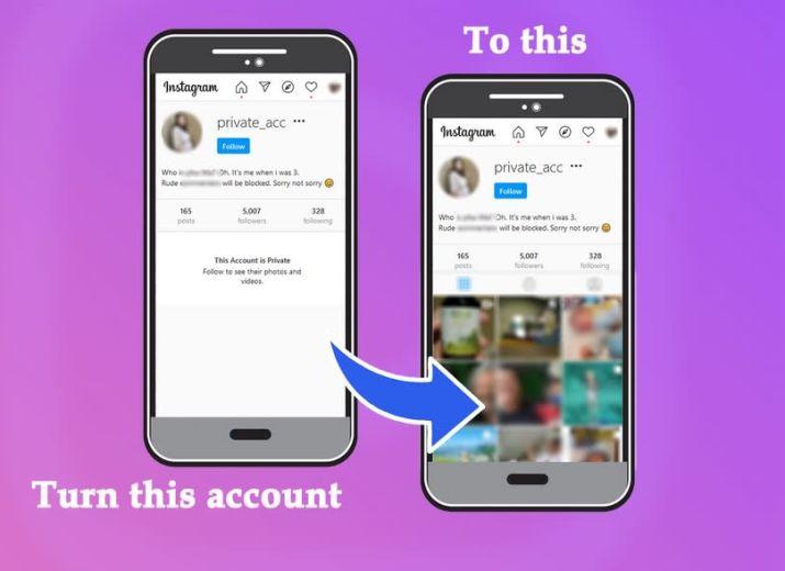 Comment Voir Le Compte Instagram Privé de Quelqu'un