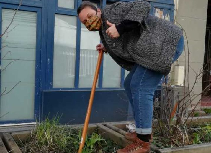 Achat de nouvelles plantes pour la rue des Envierges