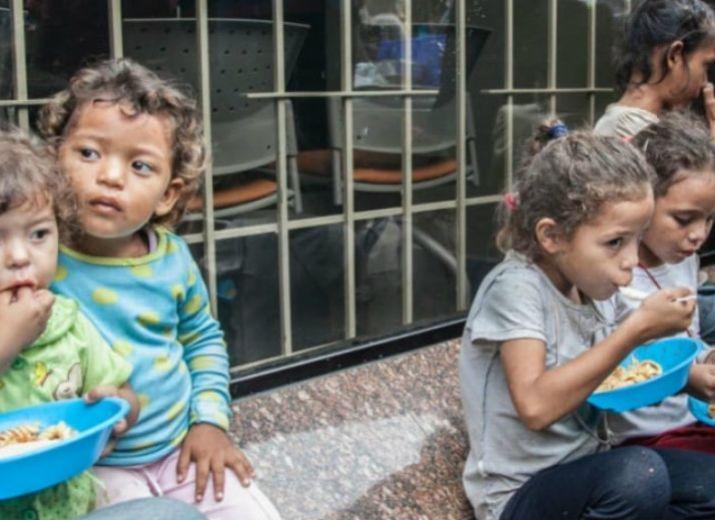 Aide à l'urgence colombienne et vénézuélienne à Bogotá