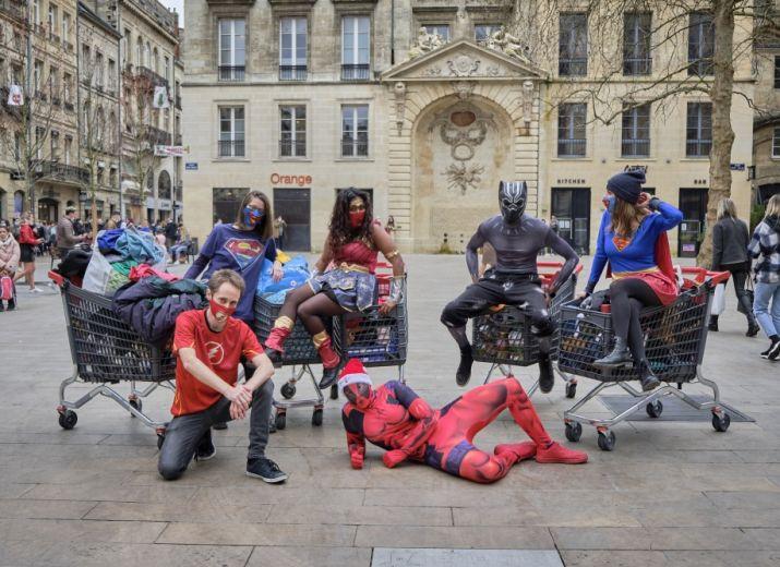 Et si c'était toi - Un soutiens pour les Sans-Abris de Bordeaux #SuperHeros