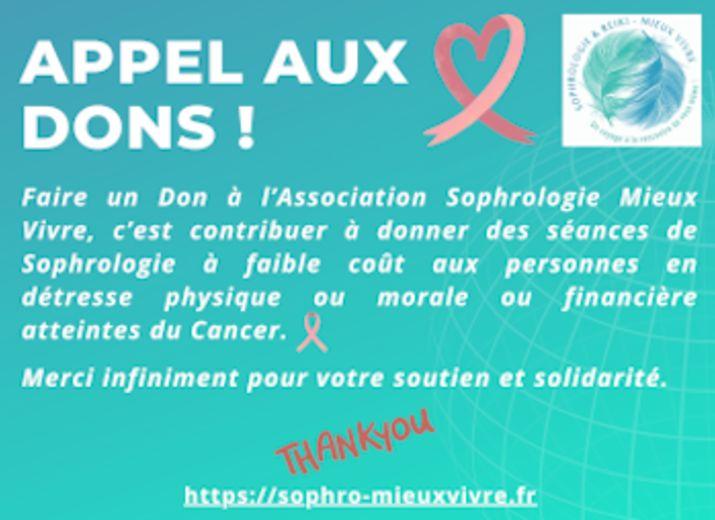 Accompagnement en Sophrologie dans le Cancer