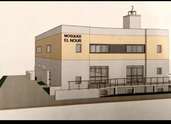 Construction nouvelle mosquée du viguier