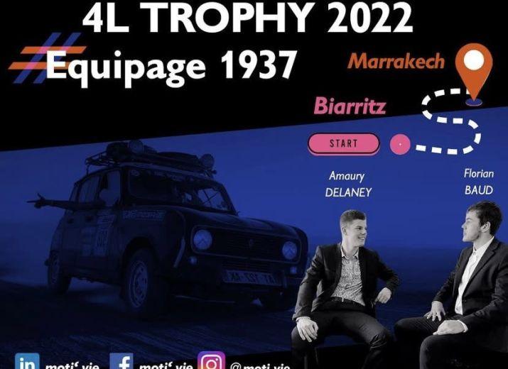 4L Trophy 2022 - Amaury Delaney et Florian Baud