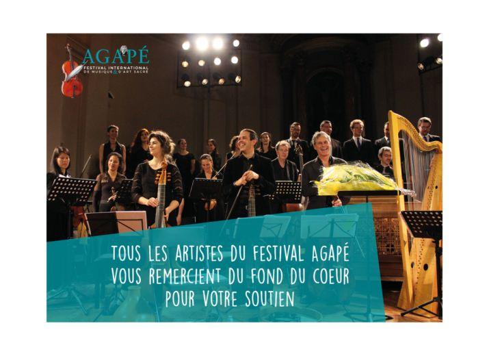 Festival Agapé Genève 2021
