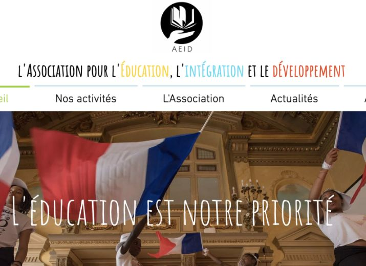 Association AEID : soutien scolaire et solidarité quartier Rébeval (Belleville)