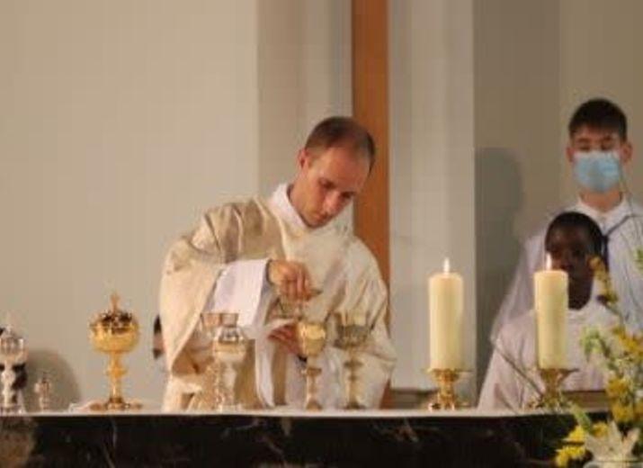 Ordination sacerdotale de Séverin Lang