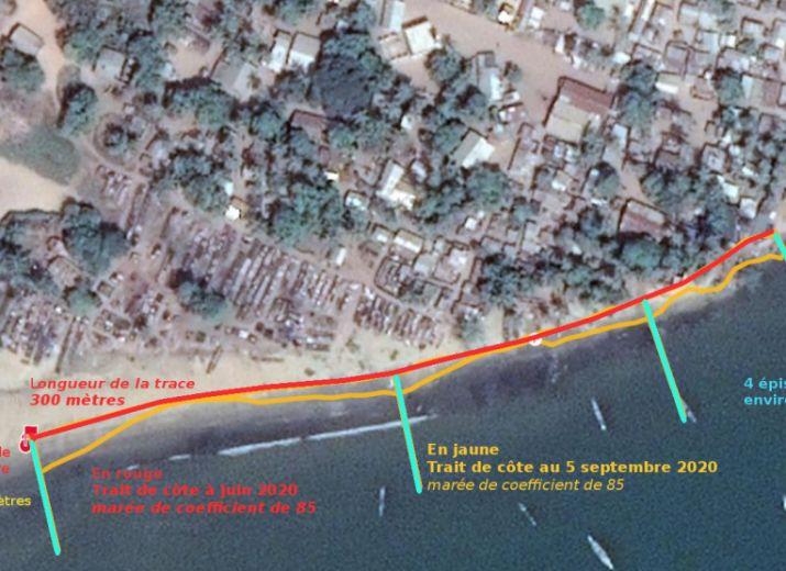 Sauver l'ile de Diogué de l'érosion