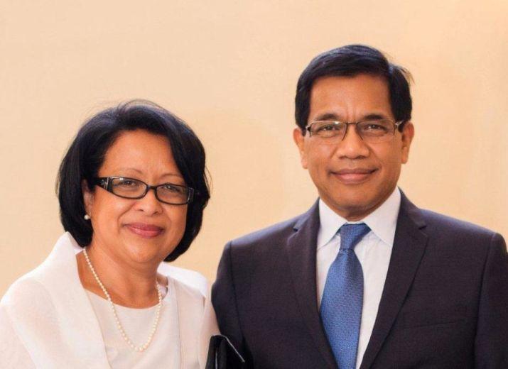 Jubilé retraite Pasteur Solofo et Yolande Ramaholimihaso