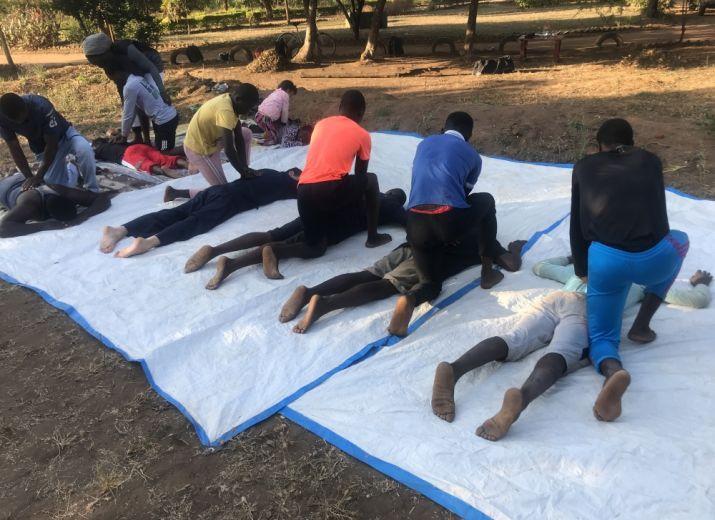 Dojo de Shiatsu au Malawi