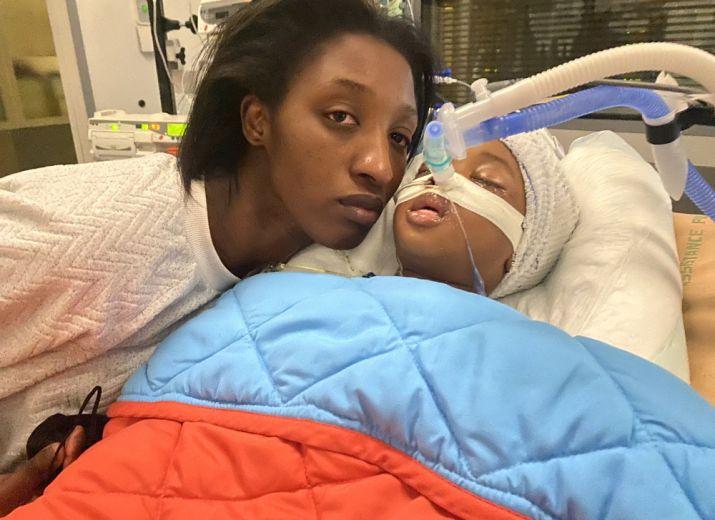 Soutien pour la maman / Help this mother
