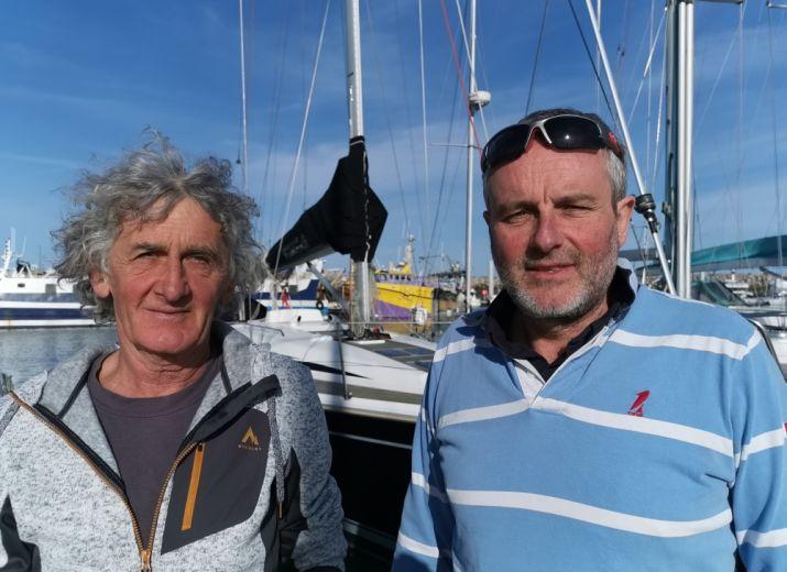 Jojo et Morgann Transat Jacques Vabre 2021