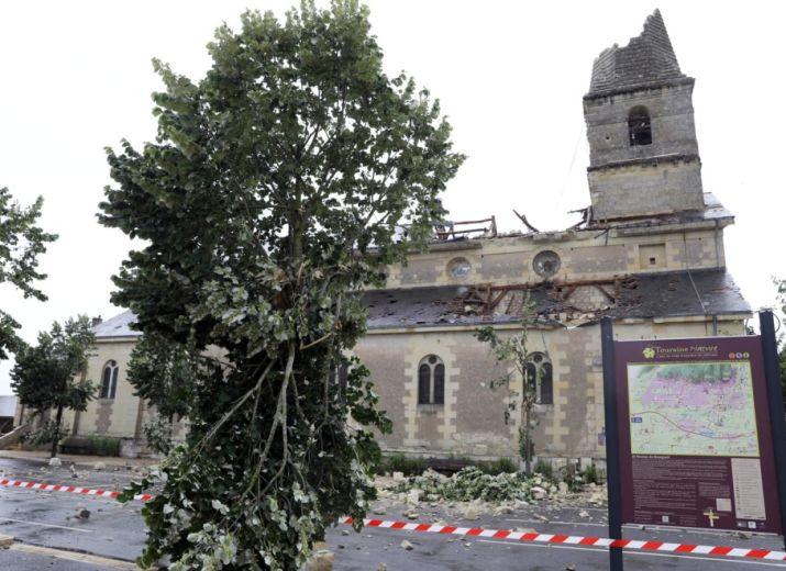 Tornade Saint-Nicolas-de-Bourgueil