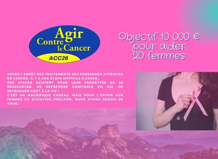 Aidez des femmes atteintes de cancer à se reconstruire