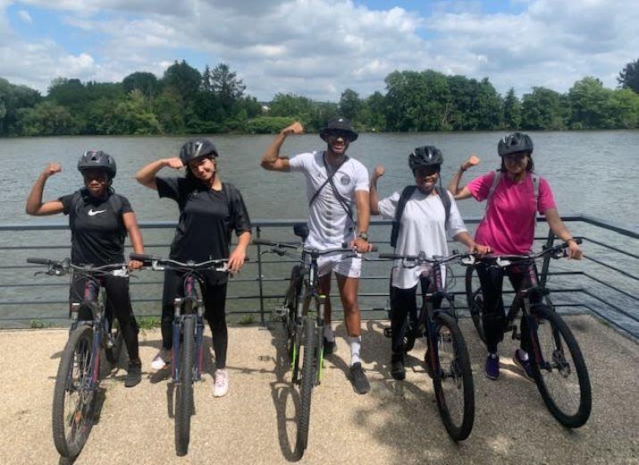 600kms à vélo des Sables d'Olonnes (85) à Ecquevilly (78) au profit de la ligue contre le cancer