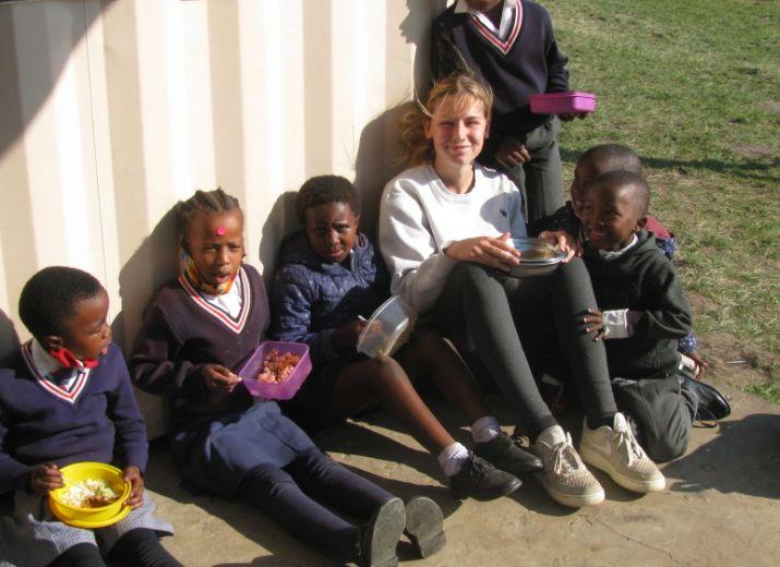 Aide une école en Afrique du Sud