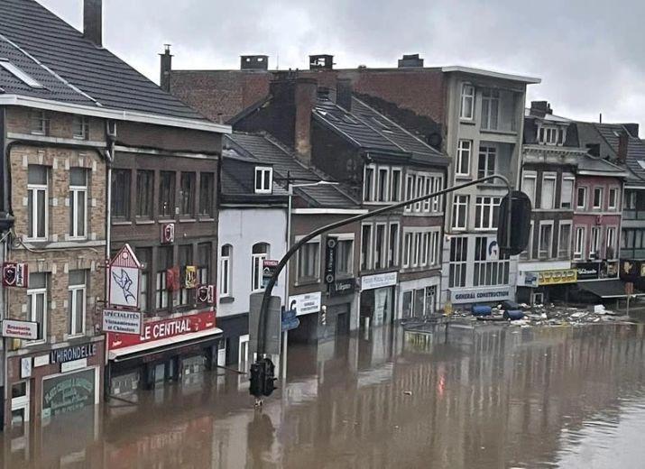 Liège: Floods / Inondations