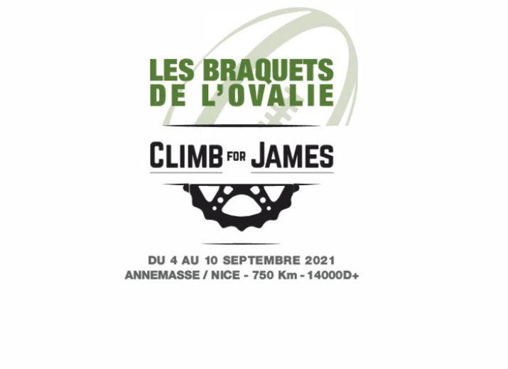 Climb for James