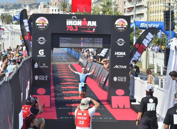 Participation aux championnats du monde Ironman 70.3 2022 (Saint George - Utah)