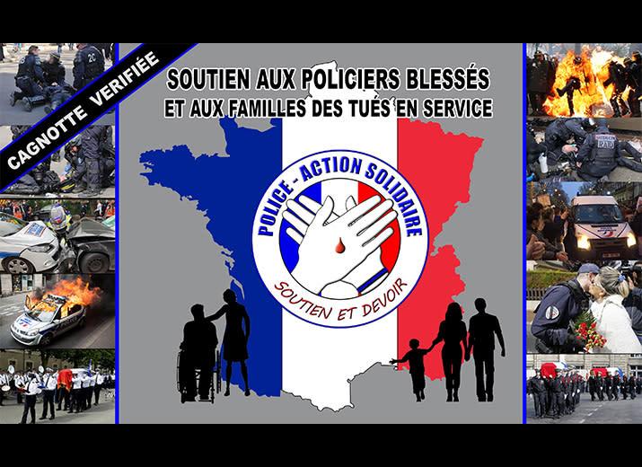 Soutien aux Policiers blessés et aux familles des tués en service