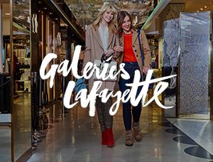 Carte cadeau - Galeries Lafayette