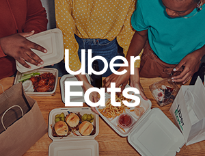 Carte cadeau - Uber Eats