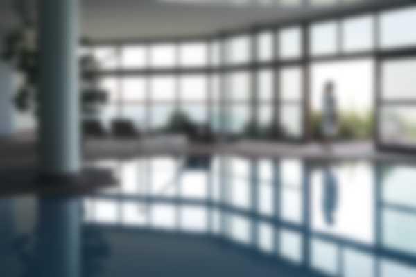 Piscina interna ed esterna di Lefay Resort & SPA Lago di Garda