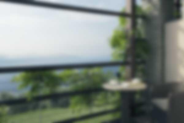 Aussicht über den See von dem Deluxe Junior Suite Balkon von Lefay Resort & SPA Lago di Garda