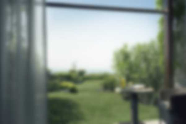 Accesso diretto sul giardino dalla Prestige Junior Suite di Lefay Resort & SPA Lago di Garda