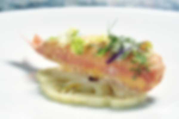 «Султанки» - первое блюдо Lefay Vital Gourmet от ресторана La Grande Limonaia (Большой Лимонарий)
