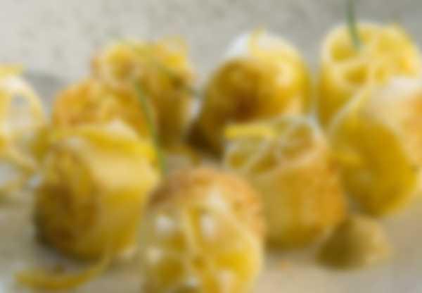 """""""Ruote Pazze"""" - erste Speise von  Lefay Vital Gourmet Km 0 Küche"""