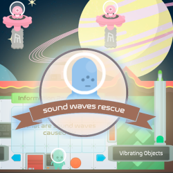Sound Waves Science Games - Legends of Learning
