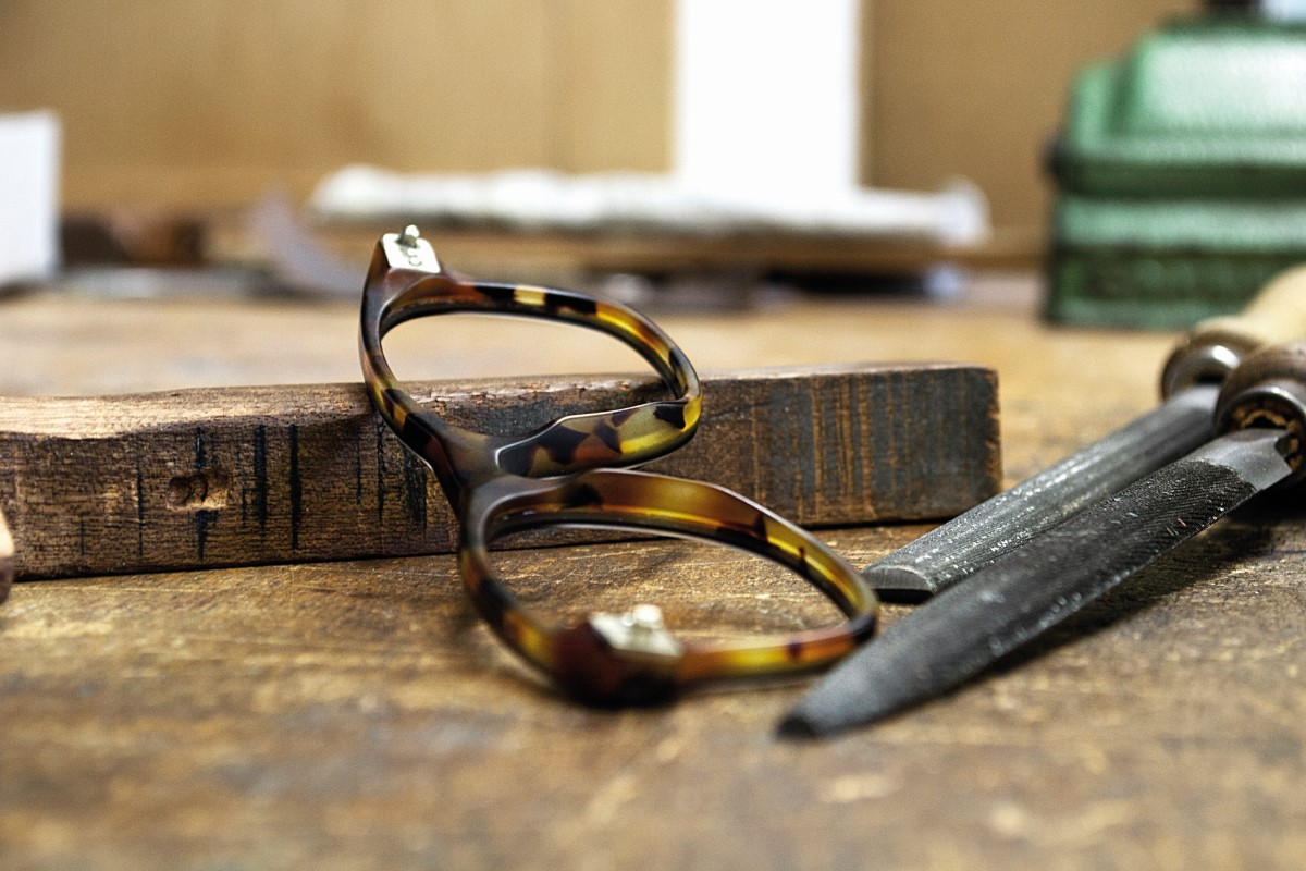 making of the frames lunor eyewear