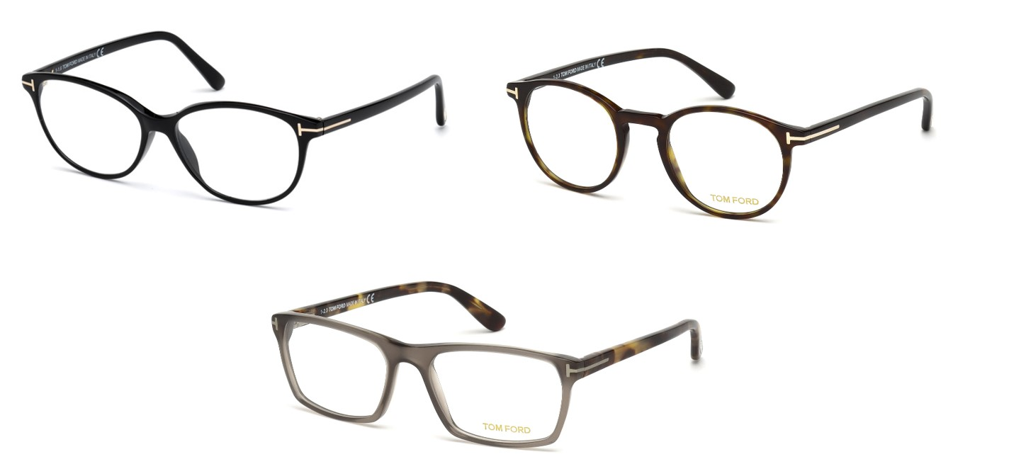 tom ford selection of frames
