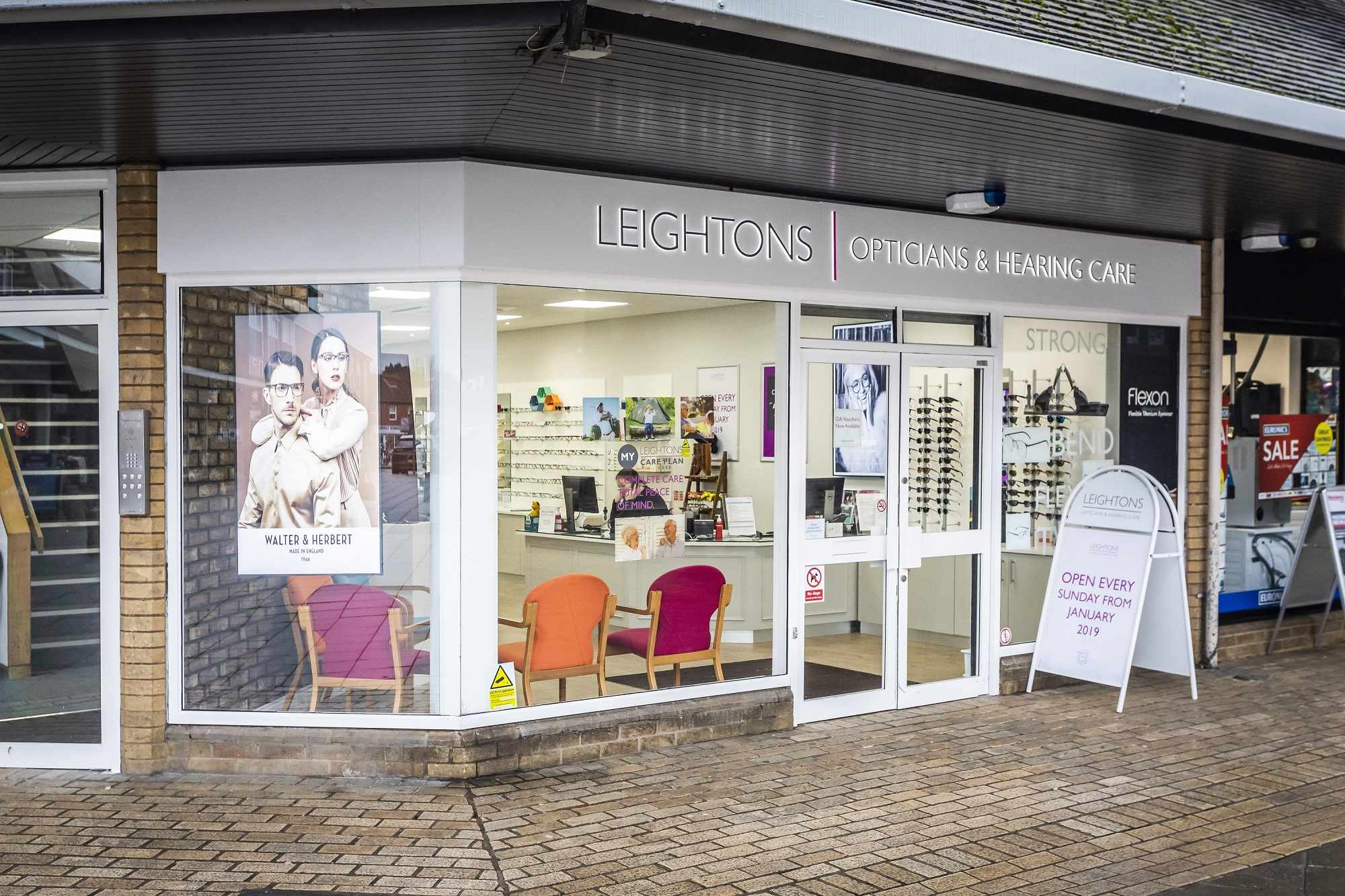 Exterior refit of Woodley Leightons