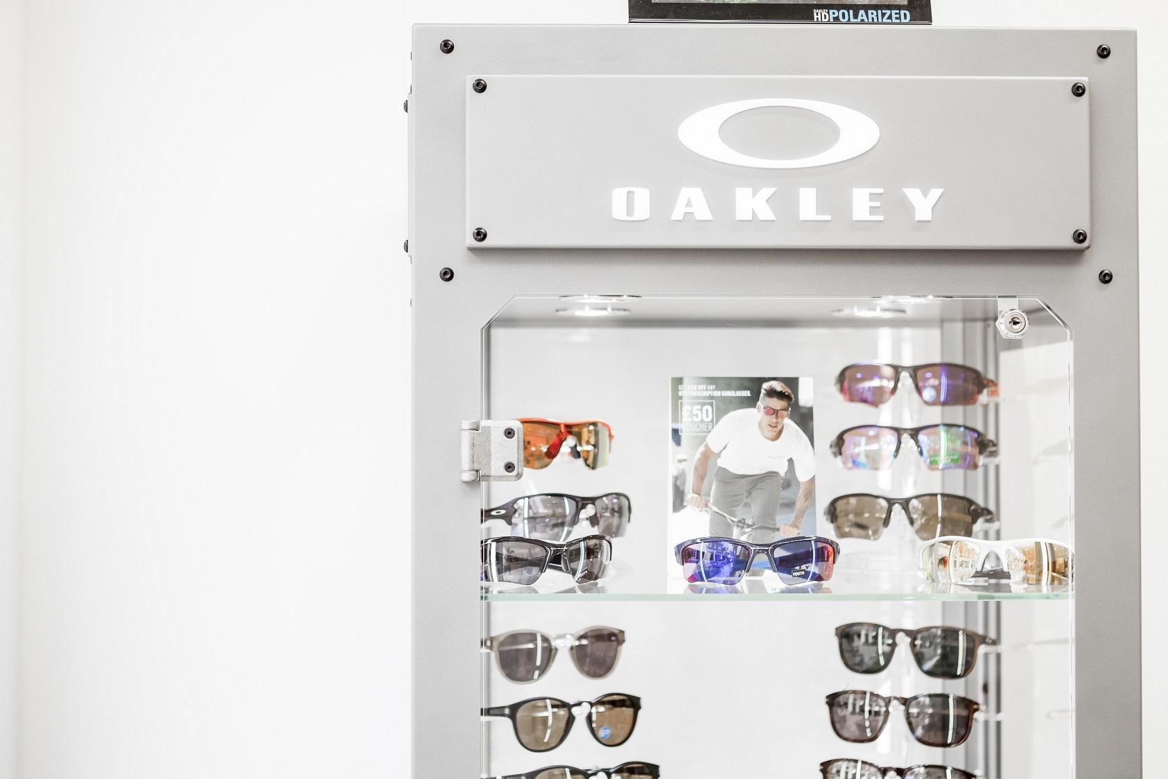 Oakley cabinet