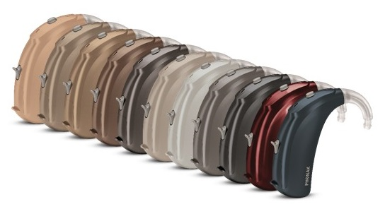 naida hearing aid colours