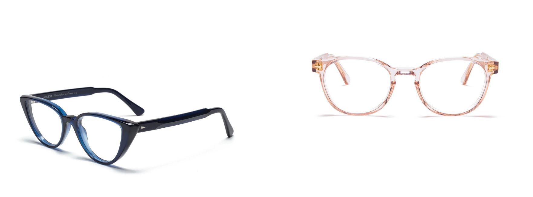 AHLEM Spectacles: Blue and Golden