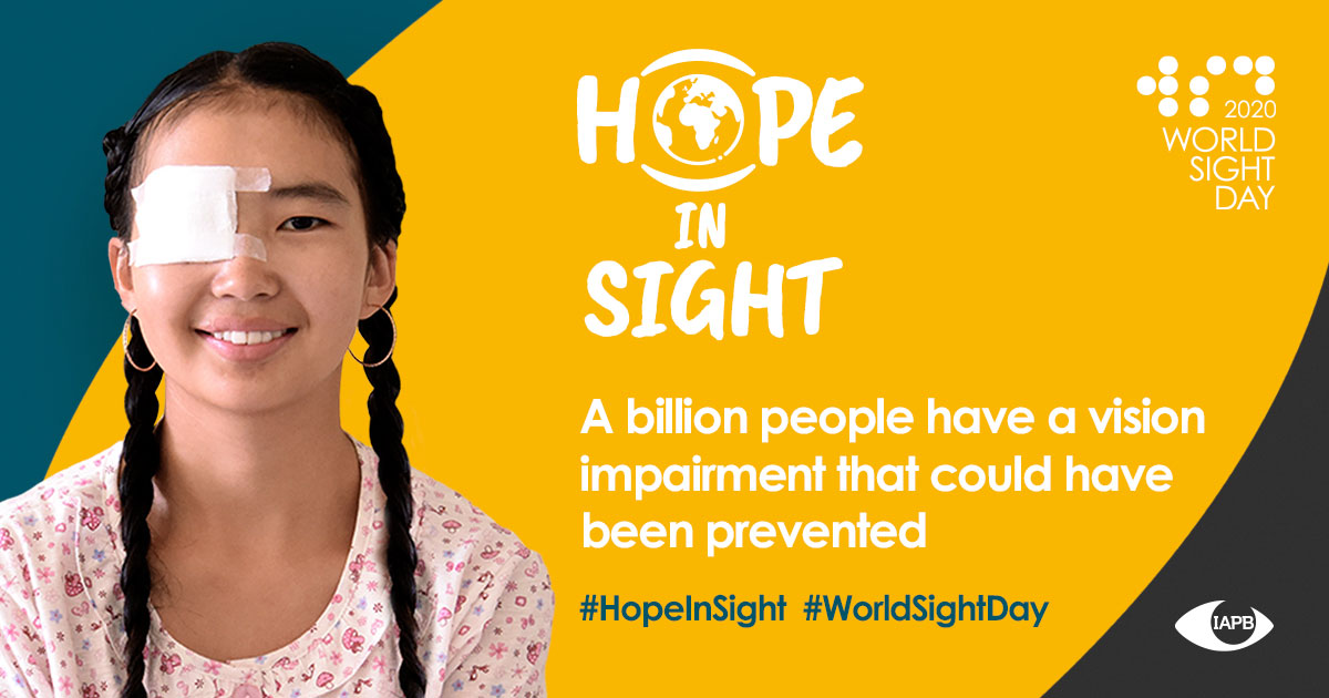 World Sight Day vision first