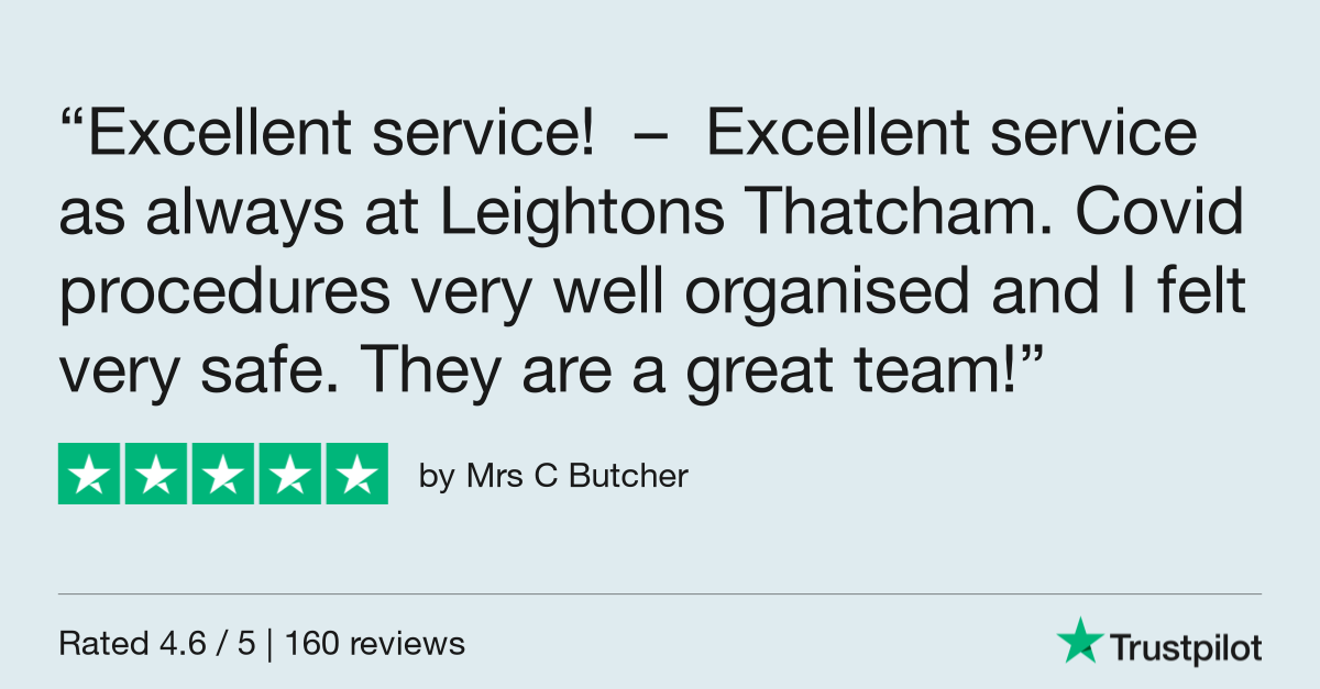 Mrs Butcher Trustpilot review - Excellent service and vision care through COVID