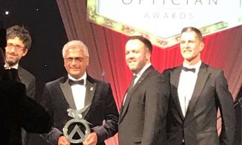 Indie Grewal wins Contact Lens Practitioner of the Year