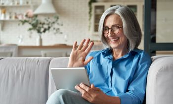 Staying connected virtually when you have a hearing loss