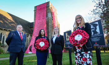 'Proud to do our bit' for Armistice centenary