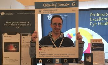 Chandlers Ford Optometrist Sean visits annual Optometry conference