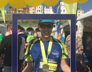 A marathon effort for Alzheimer's Society